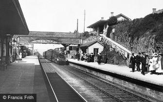 Liskeard, the Railway Station 1907