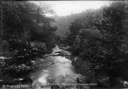 Liskeard, View From Gothlia Falls 1900