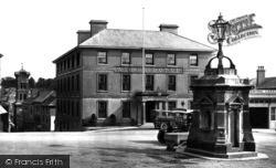Liskeard, Webbs Hotel 1922