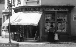 Liss, Cash Grocer And Draper, Station Road 1901