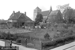 Liss, St Mary's Church And Rectory 1934