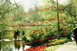 Keukenhof Gardens, The Lake 1999, Lisse