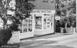 Little Baddow, Post Office Stores c.1960