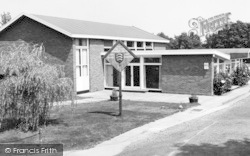 Little Baddow, The Memorial Hall And Library c.1965