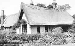 Little Baddow, The Thatched Cottage c.1960