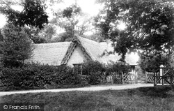 Little Baddow, The Thatched Cottage, Riffhams Chase 1903