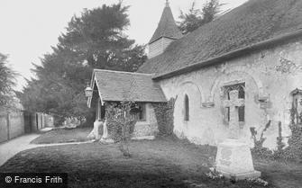 Little Bookham, All Saints Church and War Memorial 1922