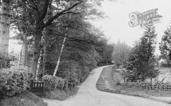 Little Chalfont, Burtons Lane c.1955
