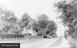 Little Chalfont, White Lion Road c.1955