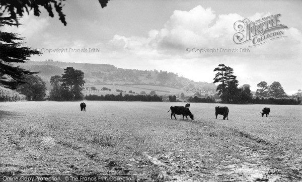 Little Comberton, Bredon Hill c1955.  (Neg. L216001)  © Copyright The Francis Frith Collection 2008. http://www.francisfrith.com