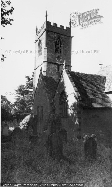 Little Comberton, the Church c1955.  (Neg. L216014)  © Copyright The Francis Frith Collection 2008. http://www.francisfrith.com