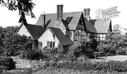 Little Comberton, The Old Manor House c.1955
