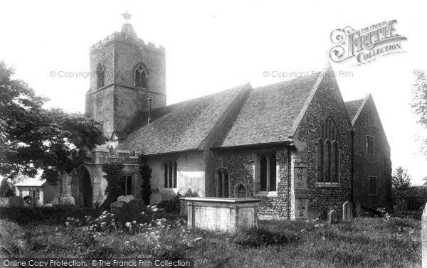 Photo of Little Cornard, All Saints Church 1904