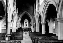 Little Dalby, Church Nave c.1955
