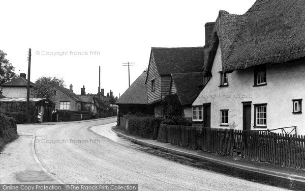 Little Dunmow, the Street c1955.  (Neg. L155002)  © Copyright The Francis Frith Collection 2005. http://www.francisfrith.com