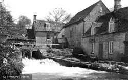 Little Faringdon, Mill And Cottage c.1955