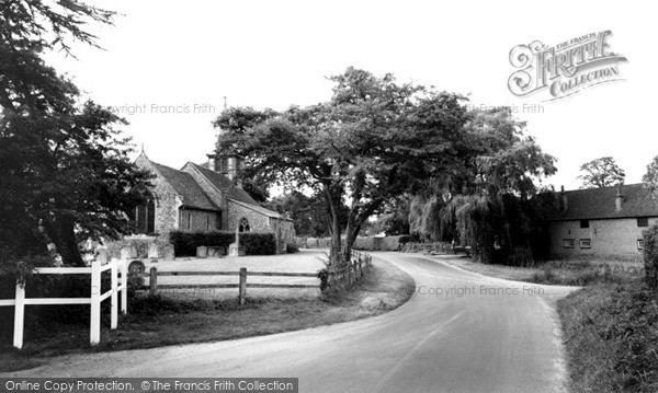 Photo of Little Hallingbury, St Mary's Church c1960