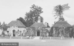 Little Haseley, The Courtyard, Haseley Court c.1960