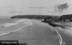 Little Haven, The Beach c.1960