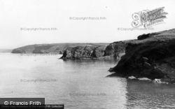 Little Haven, The Cliffs c.1960