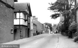 Little Haywood, The Village c.1960
