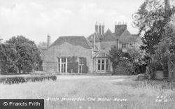 Little Missenden, The Manor House c.1960