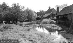 Little Missenden, The River Misbourne c.1955