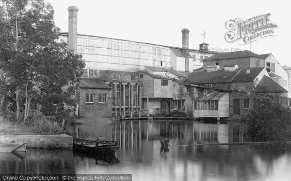 St Neots,Paper Mills 1897,Cambridgeshire
