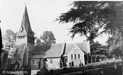 Little Sandhurst, Church Of St Michael And All Angels c.1955