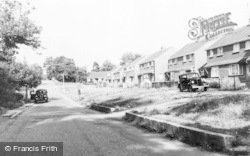 Little Sandhurst, Church Road c.1955