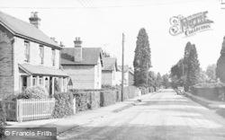 Little Sandhurst, London Road c.1955