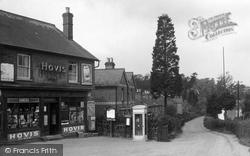 Little Sandhurst, Village Shop And Post Office 1939