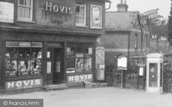 Little Sandhurst, Village Shop And Telephone Box 1939