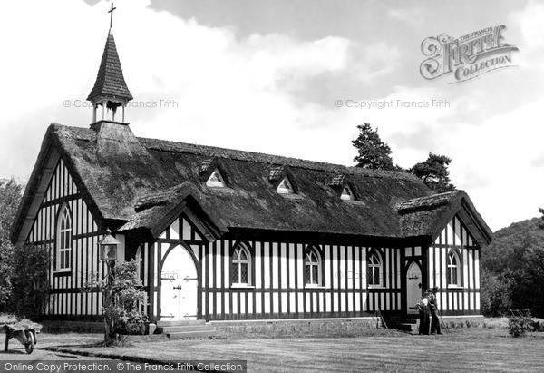 Photo of Little Stretton, All Saints' Church c.1955