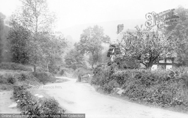 Photo of Little Stretton, Entrance To Ashes Hollow 1904