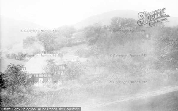 Photo of Little Stretton, Entrance To Small Batch Valley 1904