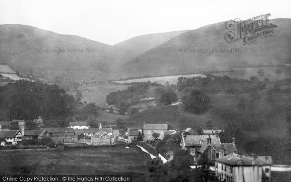 Photo of Little Stretton, From Above Watling Street 1904