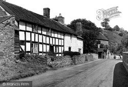 Little Stretton, The Ancient House c.1955