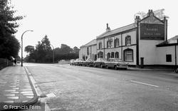 Little Sutton, Black Lion, Chester Road 1965