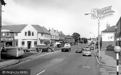Little Sutton, Ledsham Road Junction 1966