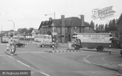 Little Sutton, The Cross Roads, Ye Olde Red Lion 1966