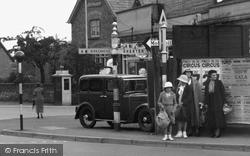 Waiting To Cross c.1935, Little Sutton