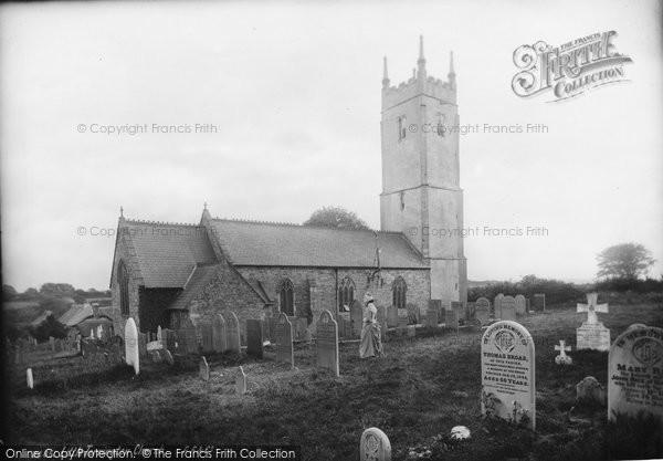 Photo of Little Torrington, Parish Church Of St Giles 1890