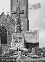 Little Torrington, War Memorial c.1960