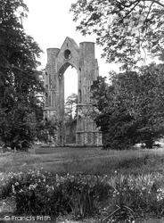 Little Walsingham, Abbey East Window 1929