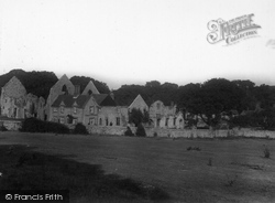 Little Walsingham, Friary 1933