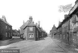Little Walsingham, High Street 1933