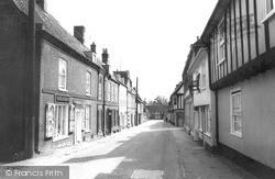 Little Walsingham, High Street c.1965