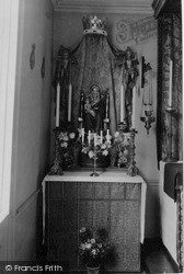 Little Walsingham, St Aelred's Chapel, The Lady Altar c.1955