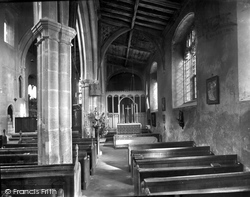 Little Walsingham, St George's Altar 1926